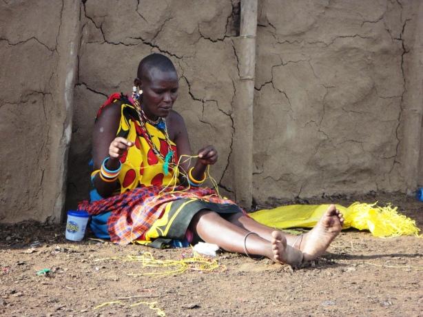 Masai Tribe seen in Kenya