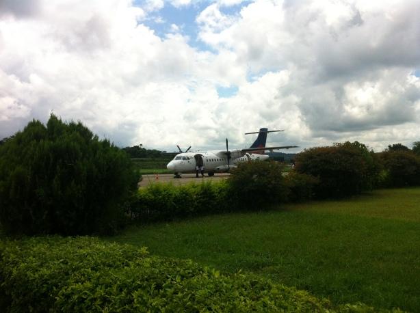 ATR at Dharamsala Airport