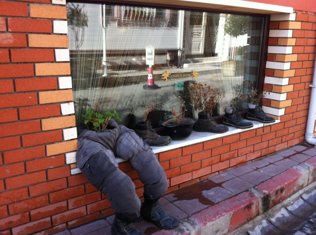 Innovative window display