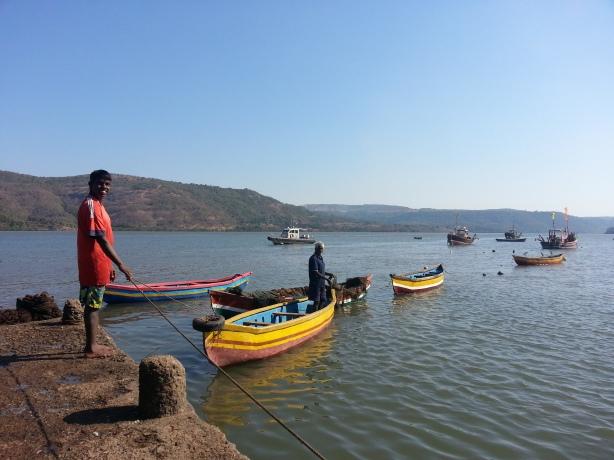 Fishermen in Bankot