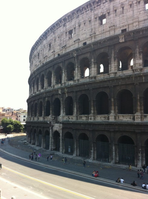 Outside Colosseum, Rome