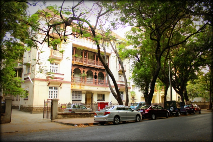 A building in Dadar Parsi Colony