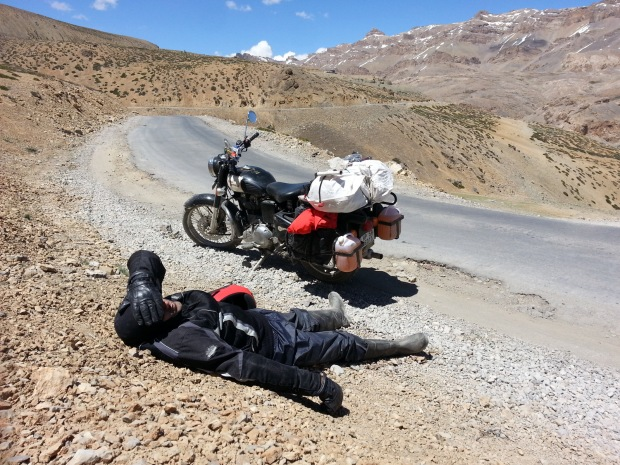It ain't easy - the road to Ladakh