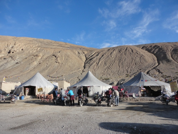 Our Tent in Pang