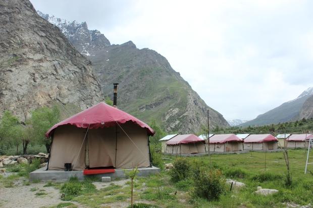 Our Tent in Jispa