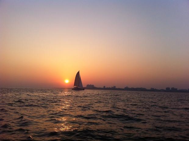 Sunset in Bombay
