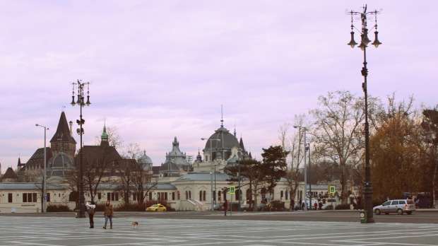 Streets of Budapest
