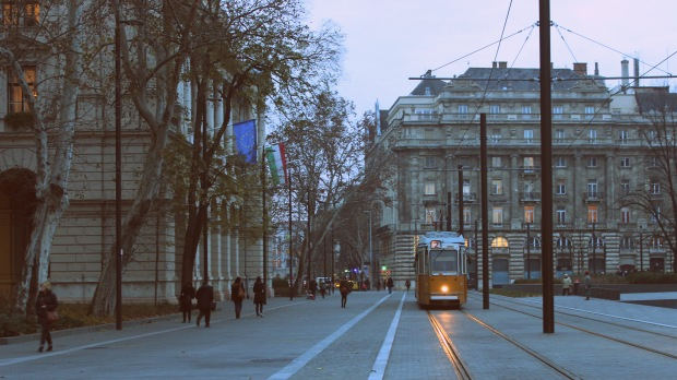 Trams of Budapest