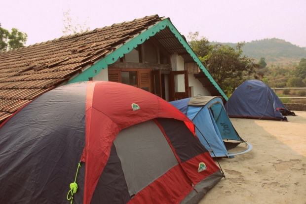 Tent accommodation at Indus